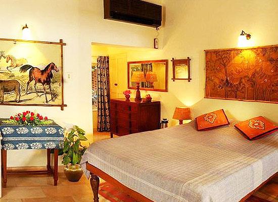 Maharani Bagh Orchard and Retreat ranakpur bedroom
