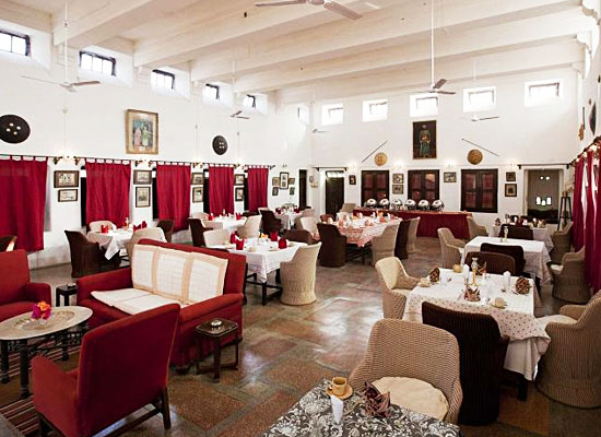 Ghanerao Royal Castle Pali Restaurant