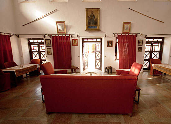 Ghanerao Royal Castle Pali Inside View