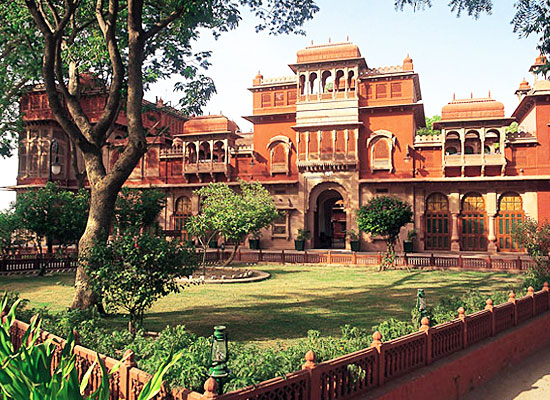 Gajner Palace Bikaner Outside View