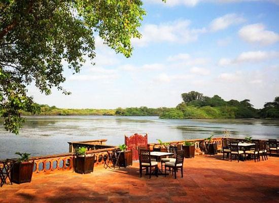 Gajner Palace Bikaner Lake View